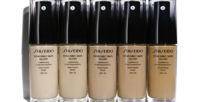 Synchro Skin Glow Foundation από τη Shiseido