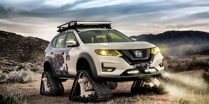 Nissan Rogue Trail Warrior Project: Για περιπέτειες